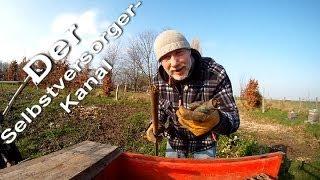 Erste Arbeiten im Selbstversorger Garten