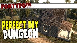 Pontypool - Perfect DIY Dungeon | 7 Days To Die Alpha 17 | Part 4