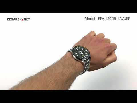 Casio EDIFICE Momentum EFV-120DB-1AVUEF - Zegarek.net