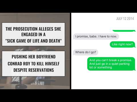 The texts from the Michelle Carter case