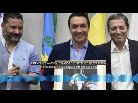 """Andrés Watson: """"La esperanza de los argentinos está basada en la unidad y en el peronismo"""""""