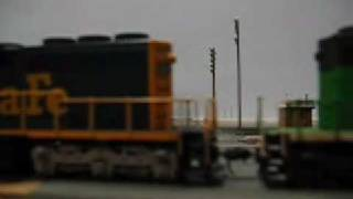 The Tehachapi Layout - Departing Bakersfield