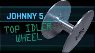 Johnny 5 Part 2 - Turning & Milling Top Idler Wheels | WW236