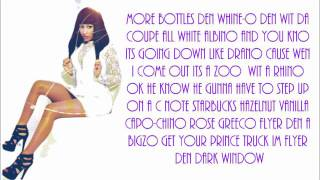 Nicki Minaj- Get Your Money Up (Lyrics)