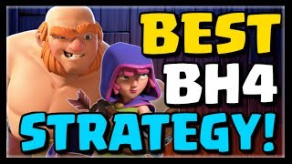 BEST BUILDER HALL 4 ATTACK STRATEGY - Giants & Archers - New CoC Update #13 | Clash of Clans