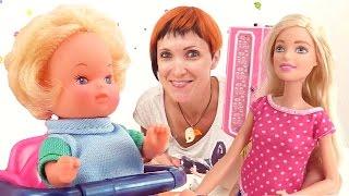 Маша Капуки и Алиса: ухаживаем за детьми куклы Барби