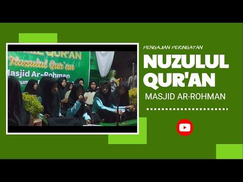 Nuzulul Qur'an Masjid Ar rohman