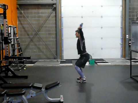Overhead Squat (start w/ Barbell) - YouTube
