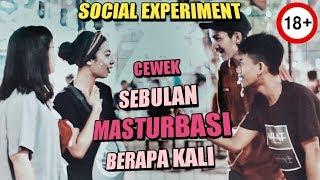 Download Video CEWEK SEBULAN MASTURBASI BERAPA KALI ? ||Social Experiment|| MP3 3GP MP4