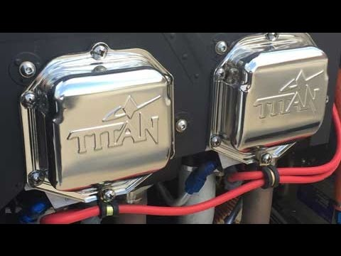 titan 180 hp aircraft engine from continental motors youtube