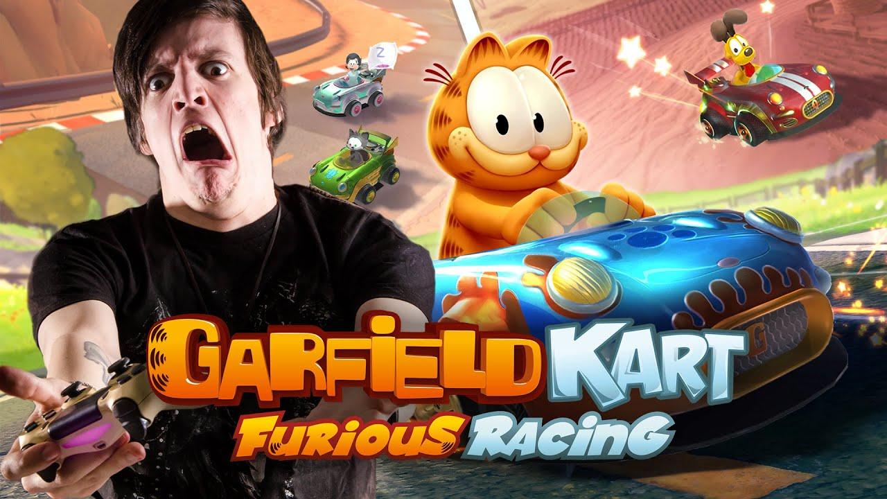 COMPILADO (MEJORES Y PEORES MOMENTOS) GARFIELD KART: FURIOUS RACING