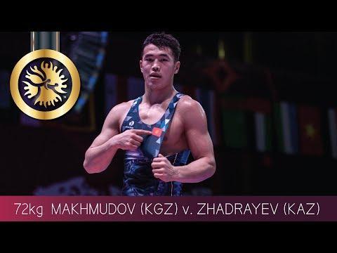 GOLD GR - 72 kg: D. ZHADRAYEV (KAZ) v. A. MAKHMUDOV (KGZ)