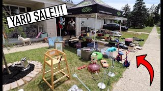 BIG YARD SALE - Selling To Make Room For More!