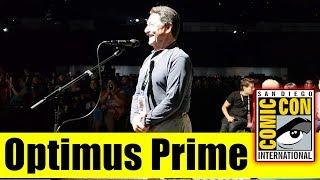 Optimus Prime Surprises Fans At BUMBLEBEE Panel | Comic Con 2018 (Peter Cullen)