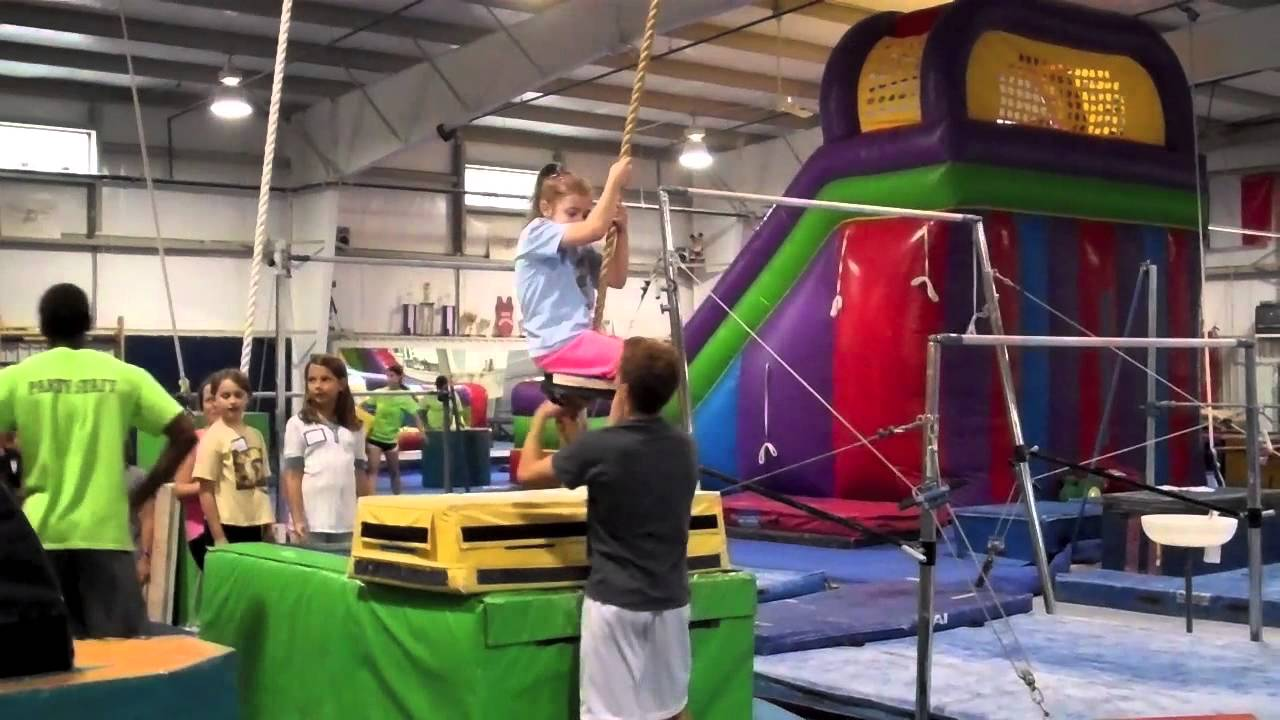 Happy 9th Birthday Boo Gymnastics Party