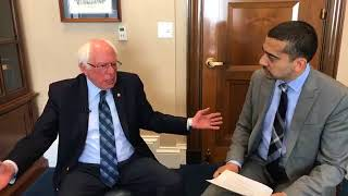 """Israel Should Be Condemned"" — Bernie Sanders on Israel Killing Unarmed Palestinian Protesters thumbnail"