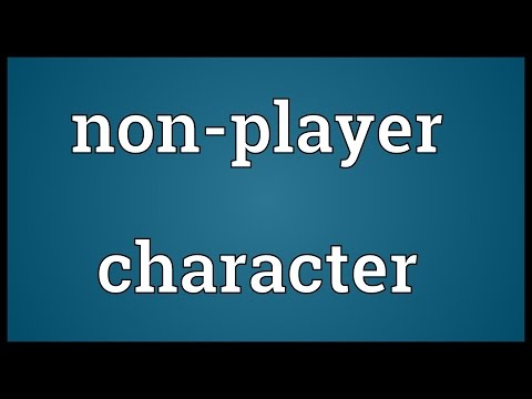 Non-player character Meaning