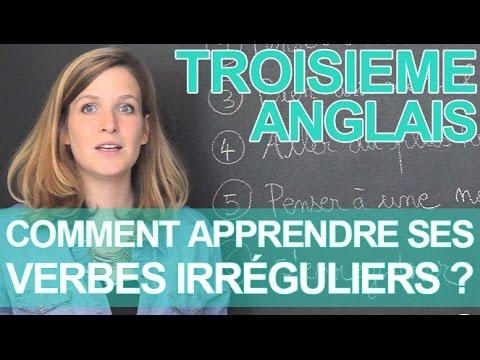 Comment Apprendre Ses Verbes Irreguliers Anglais 3e Les Bons Profs Youtube