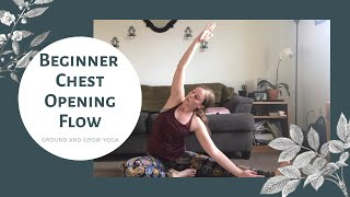 20 min Chest Opening Yoga Flow for Beginners