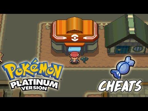 COMO TENER CARAMELOS RAROS INFINITOS EN POKEMON PLATINO | Cheats/Trucos En Pokémon