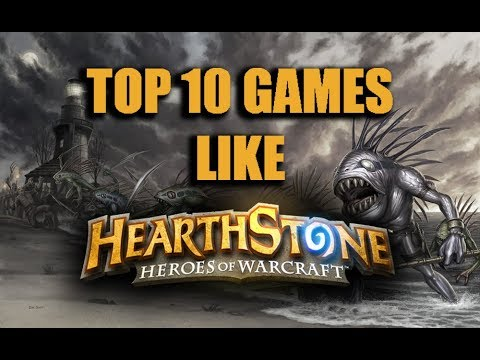Top 10 Card Games Like Hearthstone