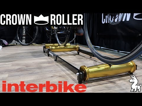 Crown Roller: Cycling Rollers Re-imagined // Interbike 2018