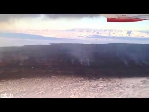 Holuhraun lava-field seen from the air: MBL / Ragnar Axelsson