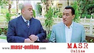 فيديو نادر جداً - حسني مبارك يتحدث عن احتلال ليبيا واسقاط القذافي