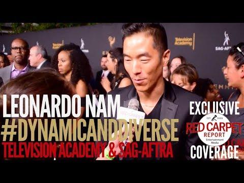 Leonardo Nam Westworld ed at 5th Dynamic & Diverse Television Academy & SAGAFTRA Party