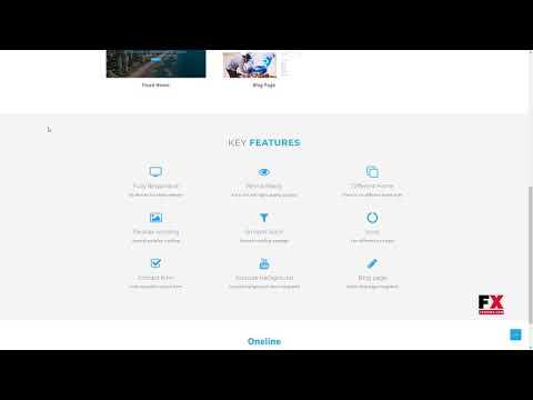 "Oneline -"" Onepage HTML Template        Ern Shenandoah"