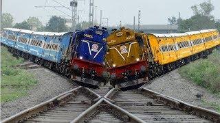 أخطر القطارات في العالم , لن تستطيع ركوبها