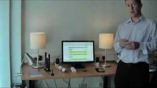 JenNet-IP Smart Home Control Demo by NXP (6LoWPAN)