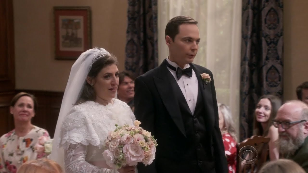 Sheldon And Amy Wedding.Sheldon Gets Married Big Bang Theory S11e24