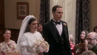 Sheldon gets married - Big Bang Theory S11E24