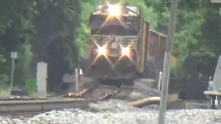 NS 8067 Leads NS 35Q at Shenandoah Junction, WV