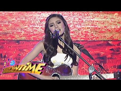 Kim Chiu performs 'Mr. Right' on It's Showtime