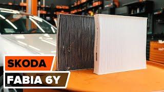 Jak wymienić filtr kabinowy w SKODA FABIA 6Y TUTORIAL | AUTODOC