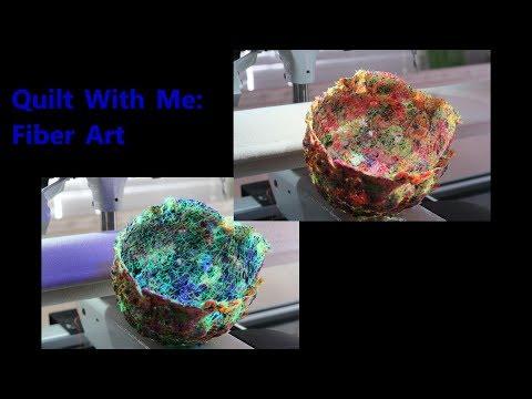 Quilt With Me:  Fiber Art