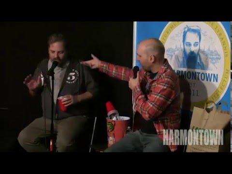 Funny improvised Scene by Dan Harmon, Rob Schrab, Jeff Davis (Uber Driver asking for Dan's phone)