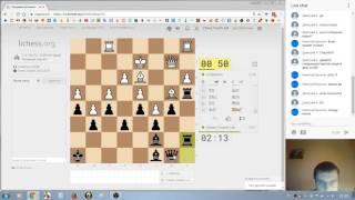 Шахматный Блиц на Личессе: интересные партии с подписчиками