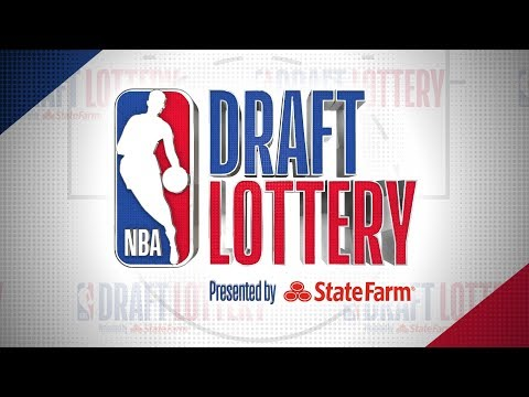 Actual draft lottery footage for 2019 released