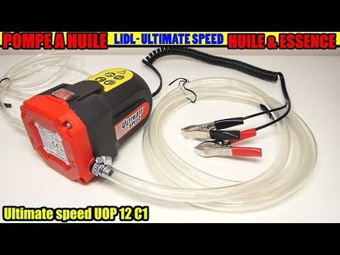 pompe à huile lidl ultimate speed uop 12 c1 vidanger huile moteur par aspiration Oil Pump Ölpumpe