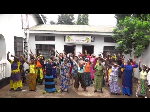 Katy Perry Roar Lip Dub - Give a Heart To Africa