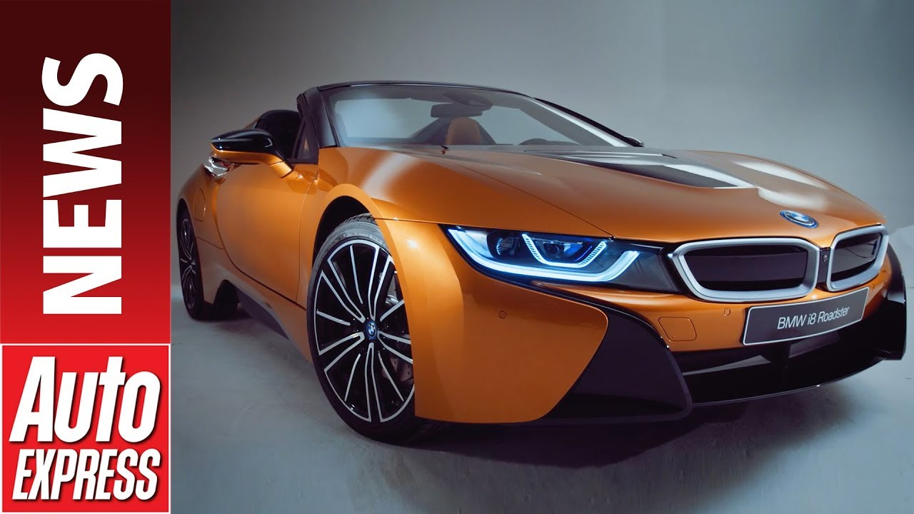 New Bmw I8 Roadster Hybrid Sports Car Gets Convertible Option