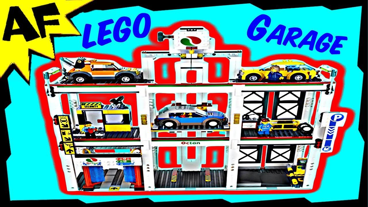 Lego City Parking Garage 4207 Stop Motion Build Review