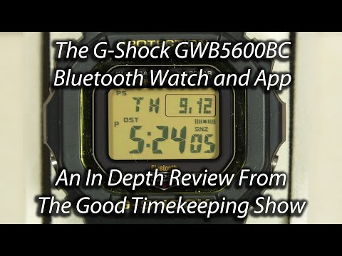 G-Shock GW-B5600 (GMWB5000) In-Depth Watch And G-Shock Connected App Review