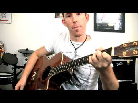 Hip Hop R&B Strumming Rhythm Guitar Tutorial - 16th Shuffle Pt.2
