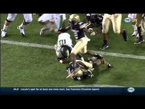 Dee Hart - Colorado State Football - HB - 2014 Colorado Game