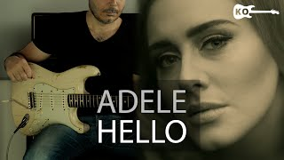 Adele - Hello - Electric Guitar Cover by Kfir Ochaion