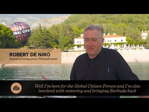 Robert De Niro interview: Global Citizen Forum 2017
